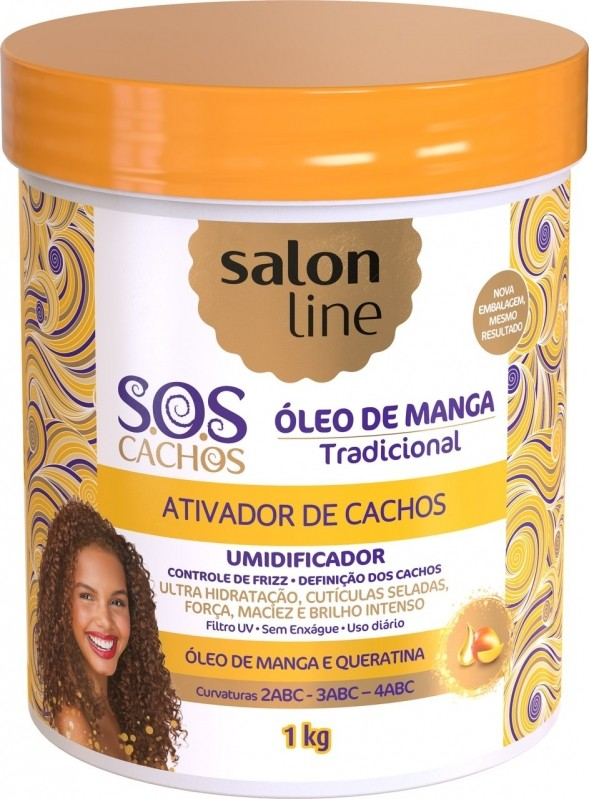Distribuidora de Salon Line Produtos Mauá - Distribuidora de Produtos da Salon Line para Cachos