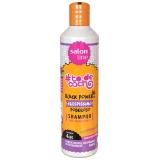 distribuição de shampoo da salon line