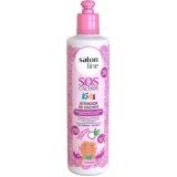 distribuição de shampoo e condicionador salon line cachos