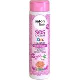 distribuição de shampoo salon line para cabelos cacheados